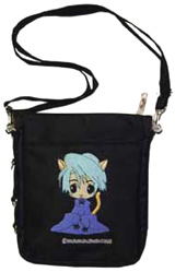 Neko-Chan Black Lucky Pouch Bag