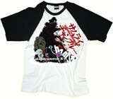 Samurai Champloo Collage 3/4 Sleeve T-Shirt XXL