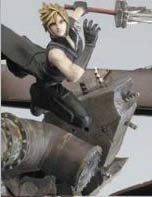 Final Fantasy VII Cloud Polystone Statue