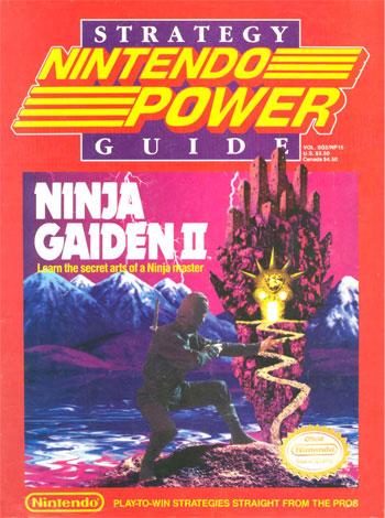 Nintendo Power Volume 15 Ninja Gaiden II Guide