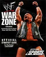 WWF War Zone Official Strategy Guide Book