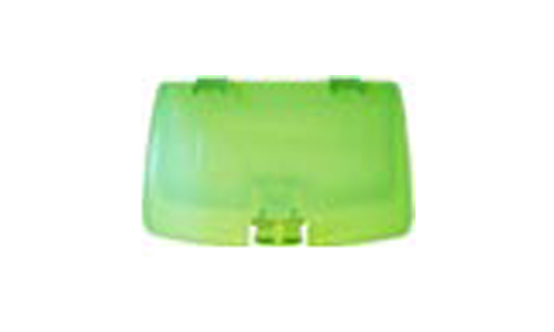 Game Boy Color Battery Cover (Clear Green)