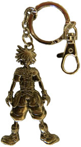 Kingdom Hearts Sora Pewter Keychain