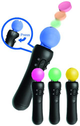 PlayStation Move Klik-On Candy Dispenser