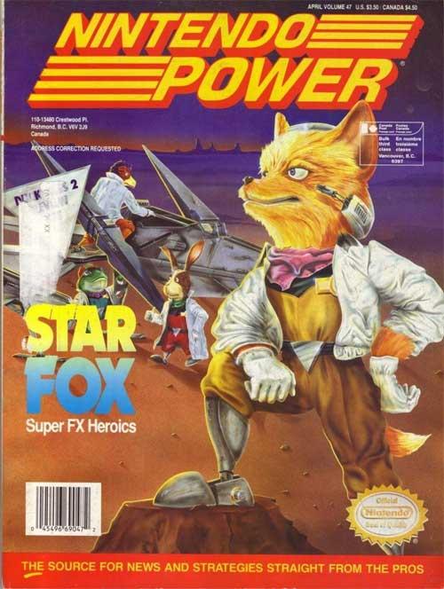 Nintendo Power Volume 47 Star Fox