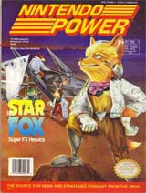 Nintendo Power Volume 47 Star Fox