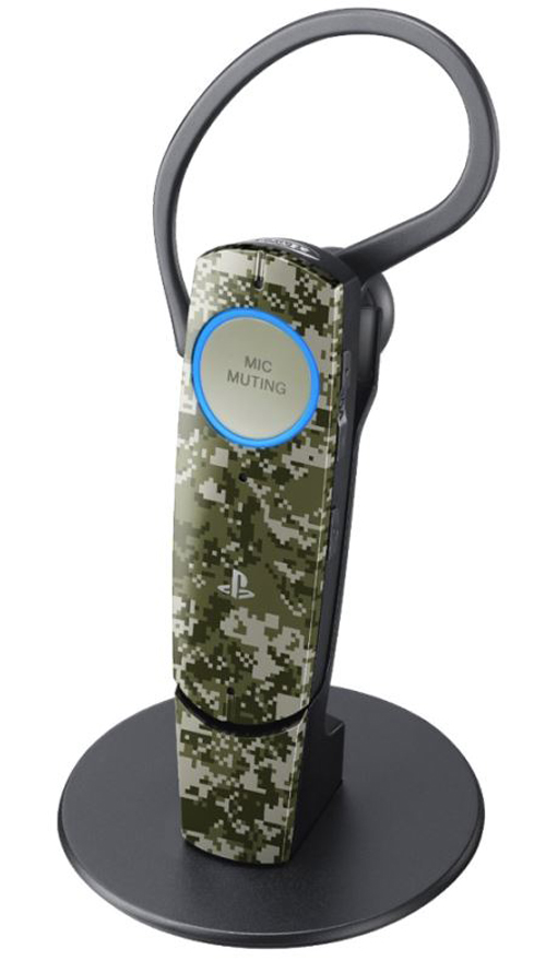 PlayStation 3 Bluetooth Headset 2.0 Urban Camo