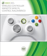 Xbox 360 Wireless Controller White Special Edition