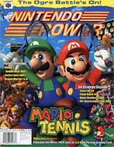 Nintendo Power Volume 135 Mario Tennis