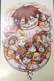 Attack on Titan Chibi Version Digital Print