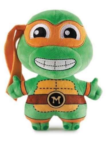 Teenage Mutant Ninja Turtles Phunny Michaelangelo 8 Inch Plush