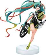 Hatsune Miku Racing Miku Bike Version 6 Inch Vinyl Figure