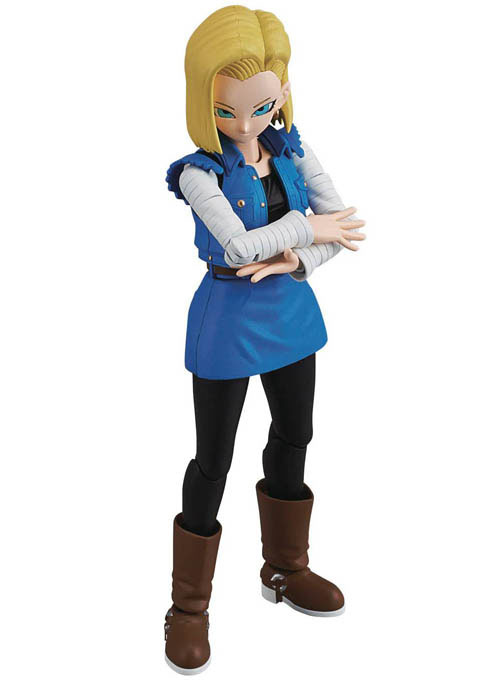 Dragon Ball Z Android 18 Figure Rise Model Kit