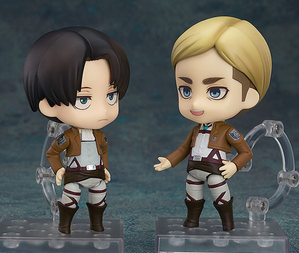 Attack on Titan Commander Erwin and Levi Nendoroids together!