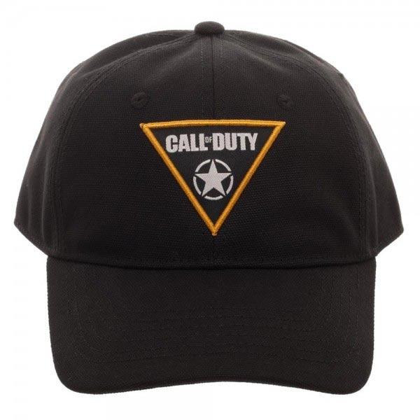Front view of Call of Duty WWII Woven Patch Dad Hat