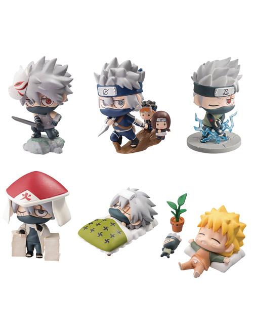 Naruto Petit Charaland Kakashi Special Mini Fig Set