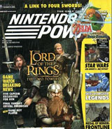 Nintendo Power Volume 164 Lord of The Rings