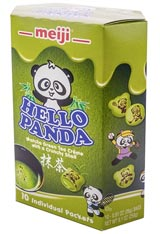 Hello Panda Matcha Cream Filled Biscuits 9.1oz
