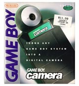 Game Boy Camera Green