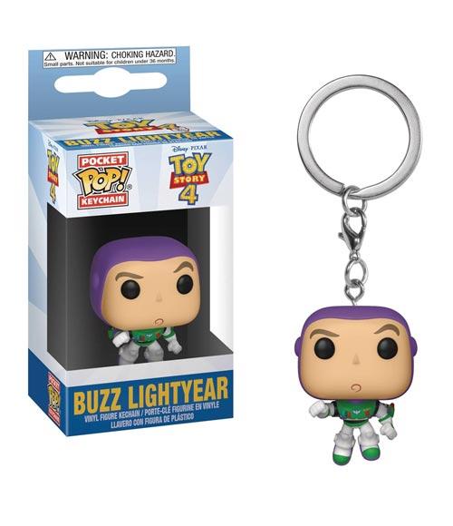 Pocket Pop Toy Story 4 Buzz Lightyear Vinyl Figure Keychain