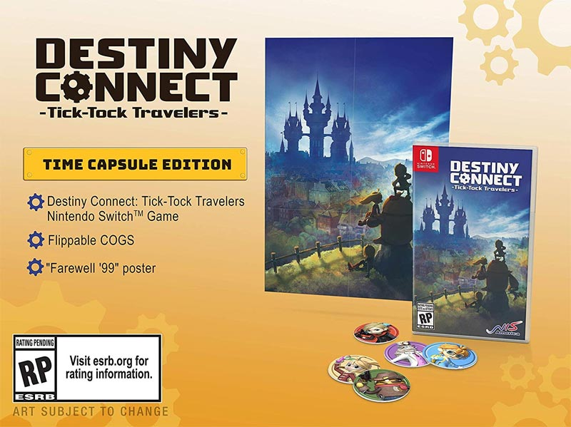 Destiny Connect Tick Tock Travelers Time Capsule Edition all items