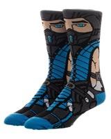 Mortal Kombat Sub-Zero 360 Crew Socks