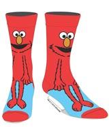 Sesame Street Elmo 360 Character Crew Socks