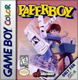 PaperBoy GameBoy Color Ver