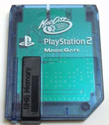 PS2 8MB Memory Card by MadCatz