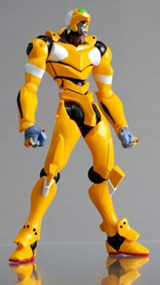 Evangelion EVA Unit-00 Yellow Action Figure