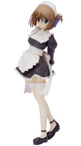 To Heart 2: Another Days Manaka Komaki Maid Costume Series Statue