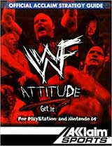 WWF Attitude Official Strategy Guide Book