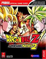Dragon Ball Z Supersonic Warriors 2 Official Strategy Guide Book