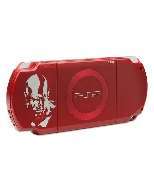 Sony PSP Slim Red - God of War Version