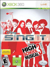 Sing It High School Musical 3 Senior Year with Microphone