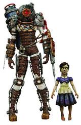 Bioshock Big & Little Sister Action Figures