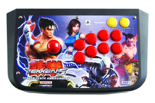 PS2 Tekken 5 Arcade Fight Stick by Hori