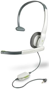 Xbox 360 Gamecom X10 Wired Headset