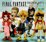 Final Fantasy: Trading Arts Volume 3 Mini Figure (Box of 9)