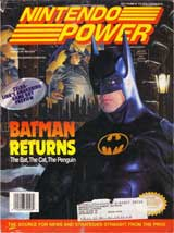 Nintendo Power Magazine Volume 48 Batman Returns
