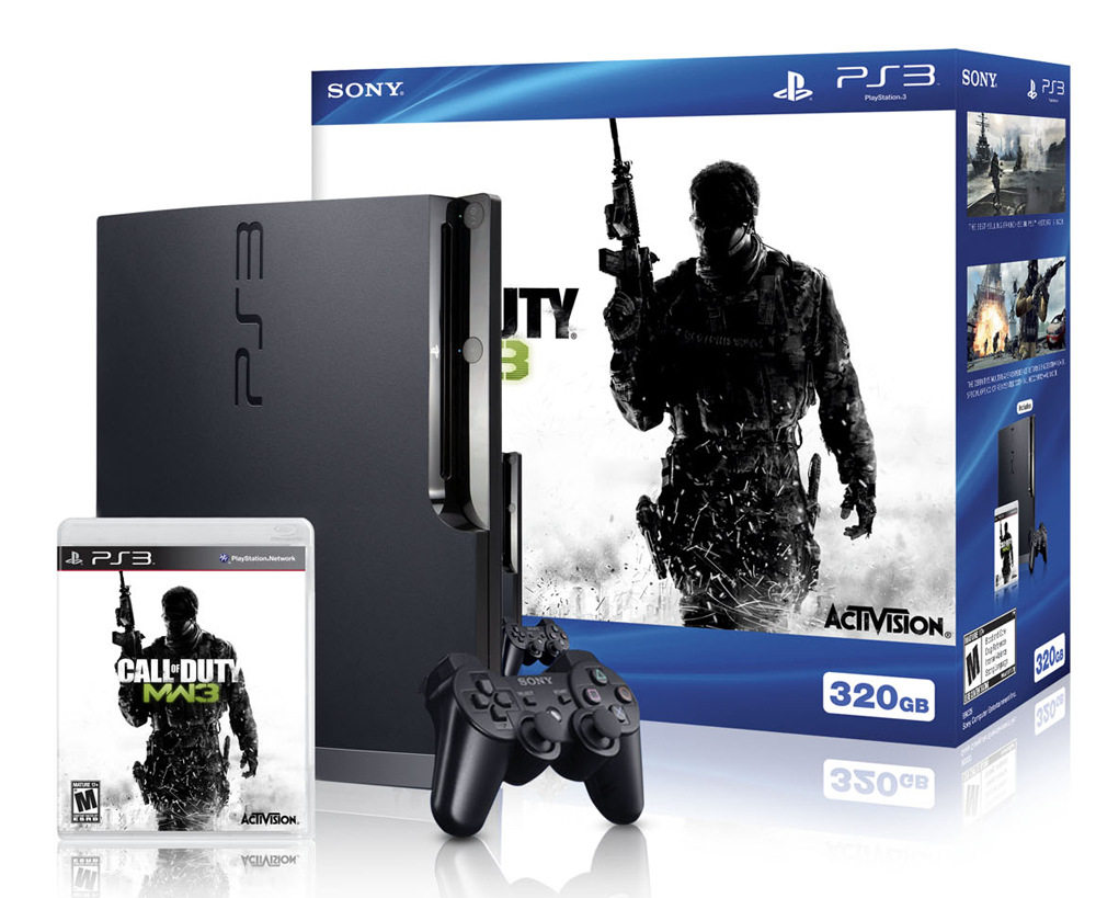 Sony PlayStation 3 Slim 320GB Call of Duty: Modern Warfare 3 System Bundle