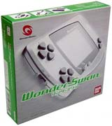Bandai WonderSwan System Clear Green