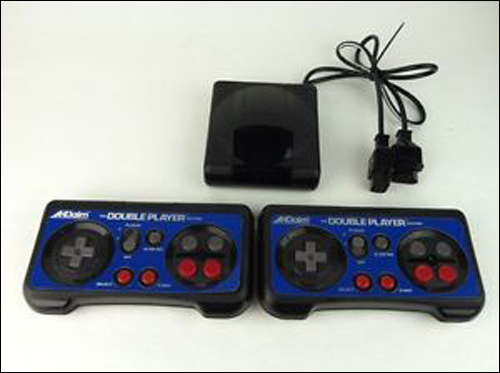 NES Double Player Wireless Controllers
