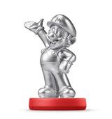 amiibo Mario Silver Edition Super Mario Bros.