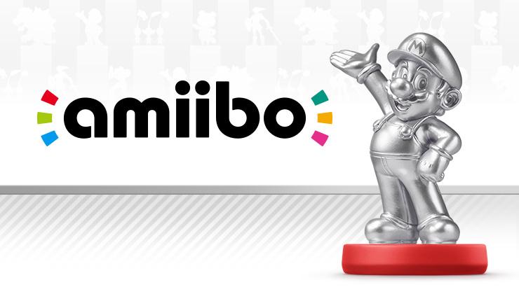 Mario amiibo Silver Edition