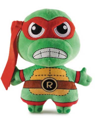 Teenage Mutant Ninja Turtles Phunny Raphael 8 Inch Plush