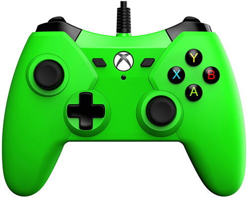 Xbox One / PC Wired Green Controller PowerA
