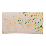 Pokemon Pikachu Floral Jrs. Flap Wallet