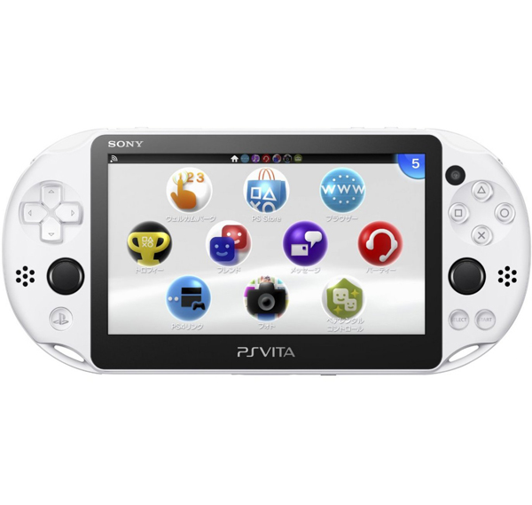 PlayStation Vita Slim Glacier White