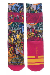 Harry Potter Jrs. Sublimated Crew Socks
